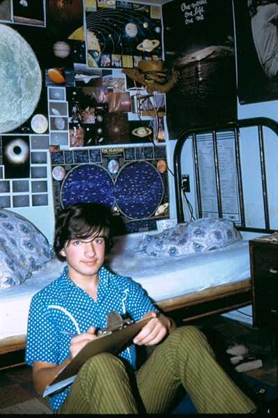 Age 15 the astronomer